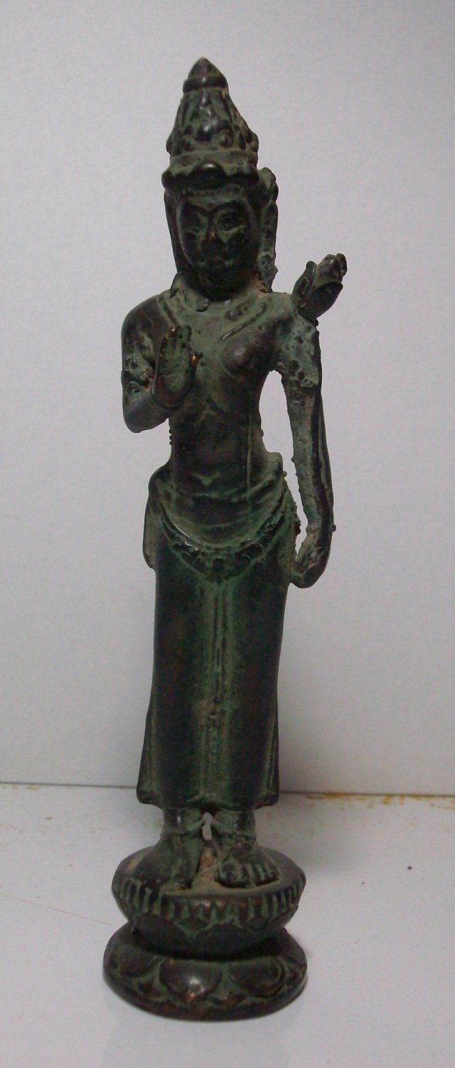 Antique ! Vintage Bali Roro Jonggrang Beauty Dancer OLD Bronze Statue Table Decor #r306