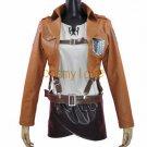 Free Shipping Attack on Titan Mikasa Ackermann Shingeki no Kyojin Armin Arlert Cosplay Costume