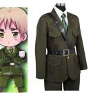 Free Shipping Hetalia Axis Powers United Kingdom Halloween Cosplay Costume