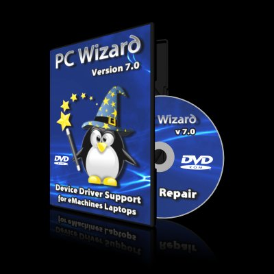 PC Wizard - For eMachines Laptops on DVD Disc