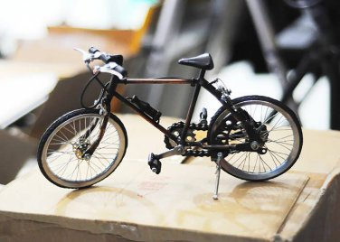 2 new handmade Miniature Mountain Bike Bicycle, Rare sport bike look great, Size : 28 x11 x19 cm
