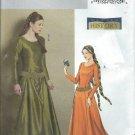 "2006-Butterick""Making History""PatternB4827-UNCUT-Size EE(14-16-18-20)Misses' Medieval Dress and Belt"