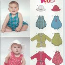 """2004-NEWLOOK """"Kids!"""" Pattern 6366 - UNCUT - Size A (NB-L)Babies Four Sizes In One"""