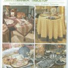 "2005-Simplicity ""ShowHouse TableTop"" Pattern 5068 - TableTop Accessories"