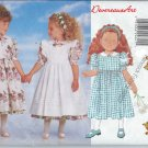 Butterick Pattern 4750-UNCUT-Size 1-2-3Toddlers'/children's Dress & Pinafore