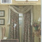"Simplicity ""Home""Pattern 8052 - One Size- Country Window Dressing - Window Treatment"