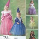 Simplicity Pattern 2569-UNCUT-Size AA(half,1,2,3,4) Toddlers' and Child's Costume