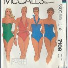 McCall's  Pattern 7109 - UNCUT- Missing' Bathing Suit - For Two-Way Stretch Knit Only