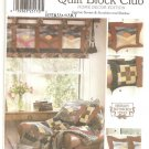 "Simplicity ""Quilt Block Club"" Pattern 9852-UNCUT-Home Decor Edition-Sunrise Sunset/Sunshine&Shadow"