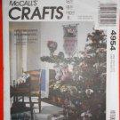 "McCall's ""Craft"" Pattern 4954 - UNCUT - Christmas Bunnies"