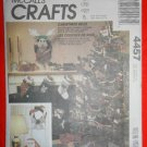 "McCall's ""Craft"" Pattern 4457 - UNCUT - Christmas Bells-"
