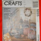 """1991 McCall's """"Craft"""" Pattern 5225 - UNCUT - Springtime in the 90's - Easter Package"""