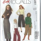 McCall's Pattern M5251 - UNCUT -Size CCD (10-12-14-16) - Misses'&Women's Gaucho Pants In Two Lengths