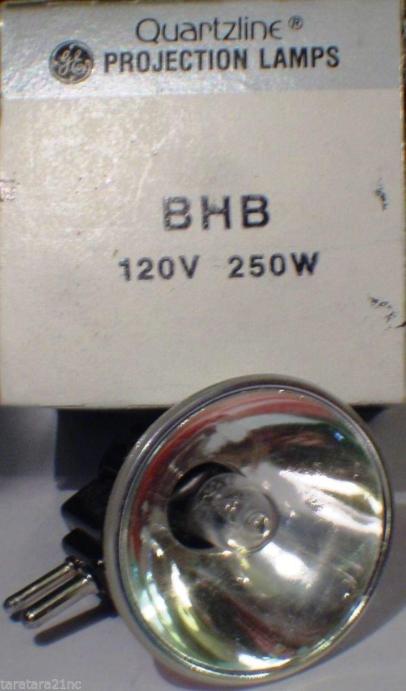 GE General Electric BHB JCR  250 Watt 120 Volt AV Photo Projector Bulb / Lamp