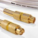 RCA DT6S High Performance Digital S-Video Cable 6' Heavy Duty 24k Gold Connector