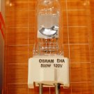 EHA  Osram Sylvania Lamp Bulb 500w 120v gy9.5 54585 Osram, GE, Phillips, Eiko