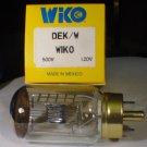 WIKO DEK / DFW / DHN   500 Watt 120 Volt AV Photo Projector Bulb / Lamp