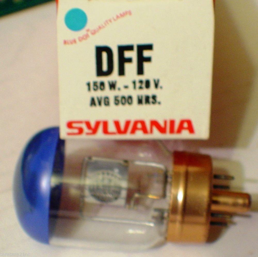 Sylvania DFF 150 Watt 120 Volt AV Photo Projector Bulb / Lamp