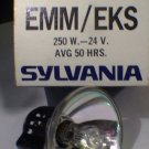 Sylvania  EMM / EKS  250 Watt 24 Volt AV Photo Projector Bulb / Lamp