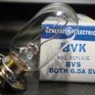 General Electric BVK / BVS 6.5 amp 5 volt AV Photo Projector Bulb