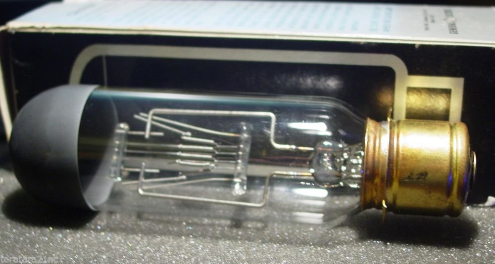GE General Electric DDB DDW 750 Watt 115-120 Volt AV Photo Projector Bulb