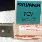 Qty 4 Sylvania FCV 1000 watt  120 volt   AV Photo Projector Bulb Lot of 4 Lamps