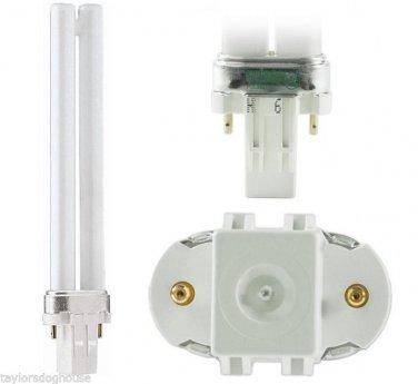 Qty 2 x Philips 13w CFL GX23 Base PL-S 13w/827/2p  CFT13W/GX23/827,20331,14681-1