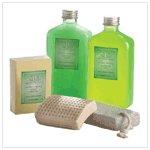 Minty Lime Shower & Bath Set