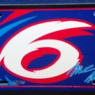 Mark Martin #6 - Novelty License Plate