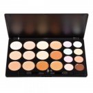 20 Color Professional Makeup Concealer Camouflage Eyeshadow Palette (Random Brush)