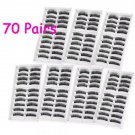 False Eyelashes 70 Pairs Professional beauty Makeup Fake Eye Lash Set