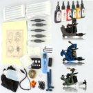 3 Guns Tattoo Machines Kit 100 Needles 6 Inks TM110602