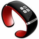 L12S OLED Bluetooth V3.0 Stylish Touch Screen Smart Bracelet Red + Black