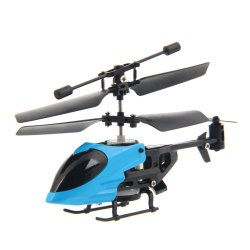 QS QS5013 2.5 Channel Infrared Semi-micro RC Helicopter Blue