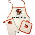 Cincinnati Bengals Apron Tailgating Combo Pack