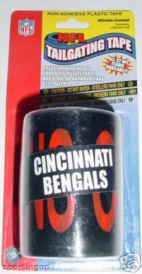 Cincinnati Bengals NFL Tailgating Tape