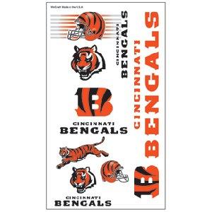 Cincinnati Bengals Assorted Temporary Tattoos