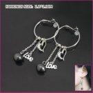 Stylish Love Pearl Earrings