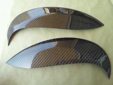 Carbon Fiber Eyelids Eyebrows Dodge Neon SRT4 03-05