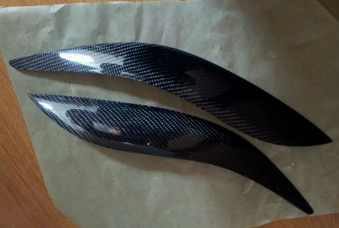 Carbon Fiber Eyelids Eyebrows Scion TC 2005-2010