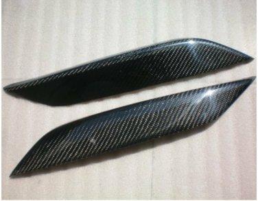 Carbon Fiber Eyelids Eyebrows Nissan 350Z Z33 Fairlady Z 03-08