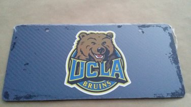 Carbon Fiber License Plate UCLA