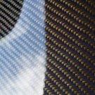 "Carbon Fiber Panel 6""x18""x2mm Both Sides Glossy blue"