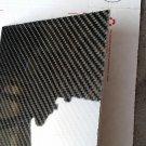 "Real Carbon Fiber Fiberglass Panel Sheet Board Plate 18""×18""×1/32"" Glossy One Side"