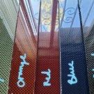 "6""x12""x3/16"" 1x1 Plain Weave Carbon Fiber Plate Sheet Panel Glossy Both Sides"