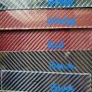"""12""""x24""""x1/8"""" 2x2 Twill Carbon Fiber Fiberglass Sheet Panel Glossy BOTH SIDES"""