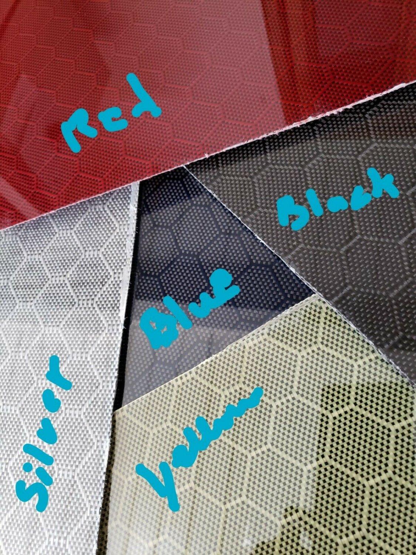 "6""x24""x1/8"" Honeycomb Carbon Fiber Fiberglass Plate Sheet Panel Glossy One Side"