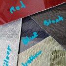 "6""x18""x3/16"" Honeycomb Carbon Fiber Fiberglass Plate Sheet Panel Glossy One Side"