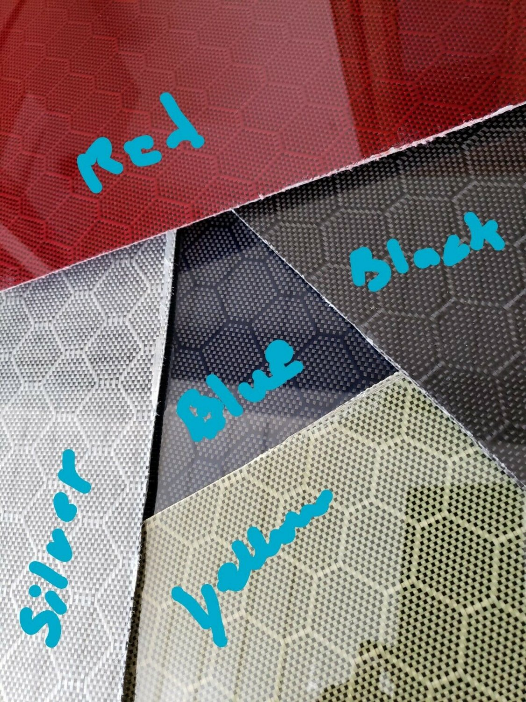 "12""x30""x1/32"" Honeycomb Carbon Fiber Fiberglass Sheet Panel Glossy One Side"