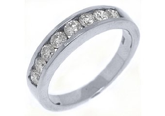 .78 CARAT WOMENS BRILLIANT ROUND CUT DIAMOND RING WEDDING BAND WHITE GOLD